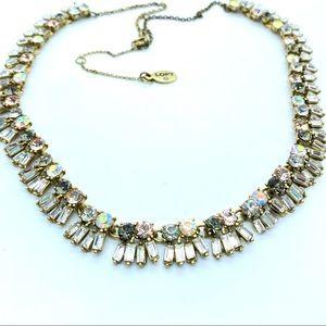 LOFT Goldtone Rhinestone Necklace